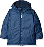 TOM TAILOR Kids Jungen Jacke Allover Printed Jacket, Blau (Dark Denim Blue 6758), 134