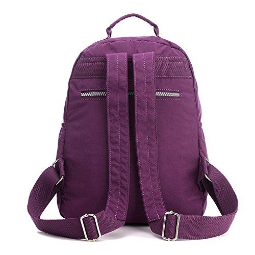 3b3d18ee0baa0 ... Outreo Rucksack Schul Daypack Leichter Rucksäcke Damen Schultaschen  Lässige Tasche Schulrucksack Wasserdicht Reisetasche Backpack für Sport ...