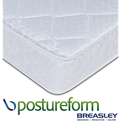 Breasley Postureform Materasso Deluxe, 14 cm, motivo con morbide al