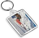 Tignes Stazione sciistica Francia Portachiavi Snowboard Neve portachiavi regalo # 12353