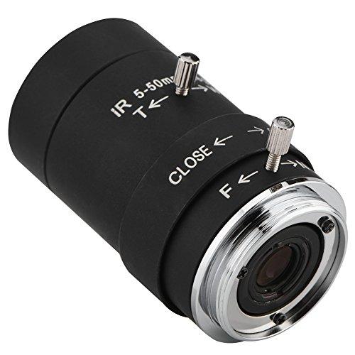 Fosa 5-50mm CS Mount Sicherheit IR Objektiv HD 1,3 Millionen Pixel F1.6 Aperture Security...