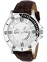 CIDIZY - Latest Brown Leather Watches Mens - New Quality Watch For Men - Stylish Watch For Men, Top Designer Watches...