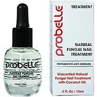 Probelle Natural Tratamiento Hongos De Uñas, Transparente 5 Fluido Onzas
