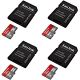 4 X Quantity Of Sony Xperia Z2 Ultra 8GB UHI-I Class 10 Micro SDHC Memory Card Up To 48MB S With Adapter- SDSDQUAN-008G-G4A Newest Version SDSDQUAN-0 - FAST FROM Orlando Florida USA