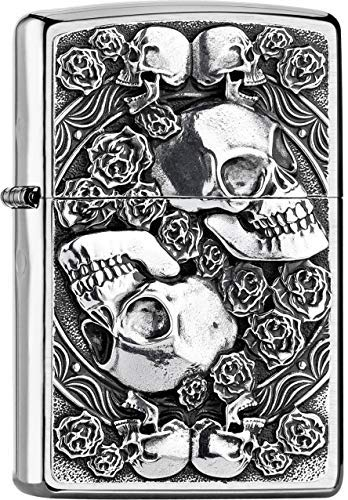 Zippo Skull and Roses - 200 Collection 2019-2005891 - 49,95 €