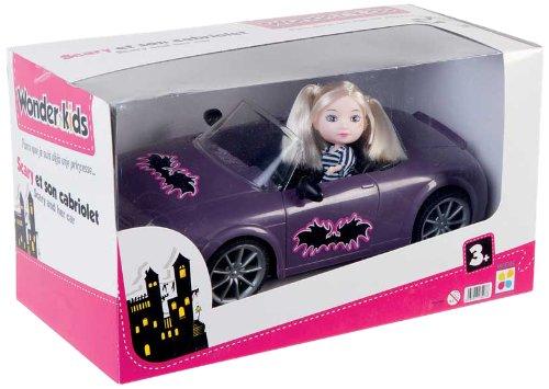 WDK PARTNER - A1300022 - Poupées et mini-poupées - Poupée Scary et son Cabriolet 3437017132078