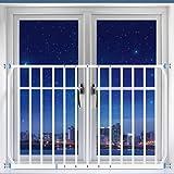 Yxsd Fenstergeländer Kinderschutz Fenstersicherheit Anti-Diebstahl-Zaun (größe : 160-230cm) Vergleich