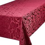 Premier Cadiz Berry 52in x 70in -132cm x 178cm Approximately Oblong (Rectangular) Tablecloth
