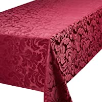 Premier Cadiz Berry 52in x 70in -132cm x 178cm Approximately Oblong (Rectangular) Tablecloth