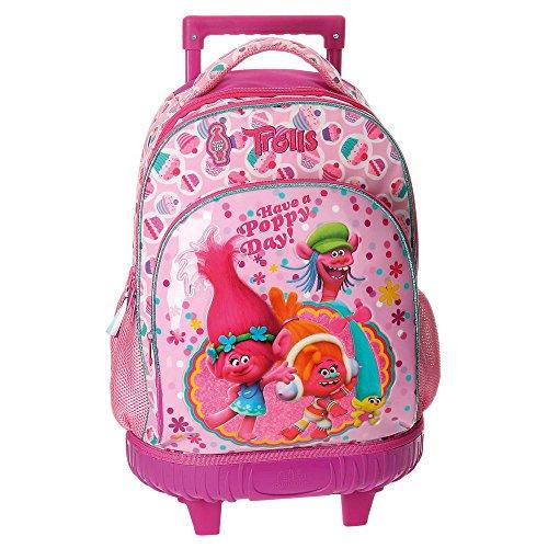 Imagen de trolls happy  escolar, 43 cm, 28.90 litros, rosa