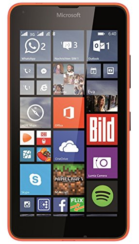 Microsoft Lumia 640 XL Dual-SIM Smartphone (5,7 Zoll (14,5 cm) Touch-Display, 8...