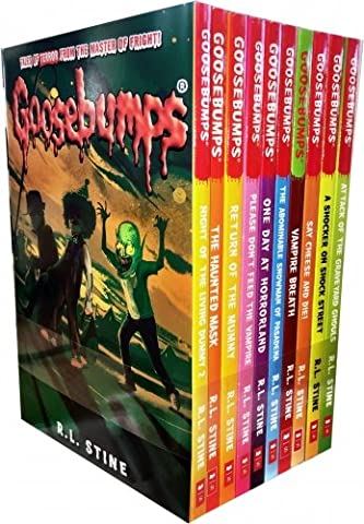 Goosebumps Horrorland Series 10 Books Collection Set by R.L.Stine (Classic