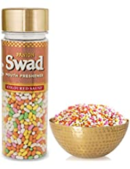 Panjon Swad Mouth Freshener, Colored Saunf, 160g
