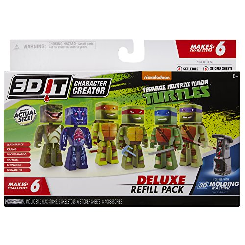 kit-de-artesania-de-3dit-teenage-mutant-ninja-turtles-deluxe-refill-ninos