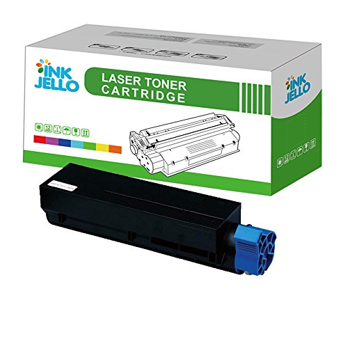 inkjello Kompatibler Toner Cartridge ersatz für OKI B401MB441MB451, Schwarz
