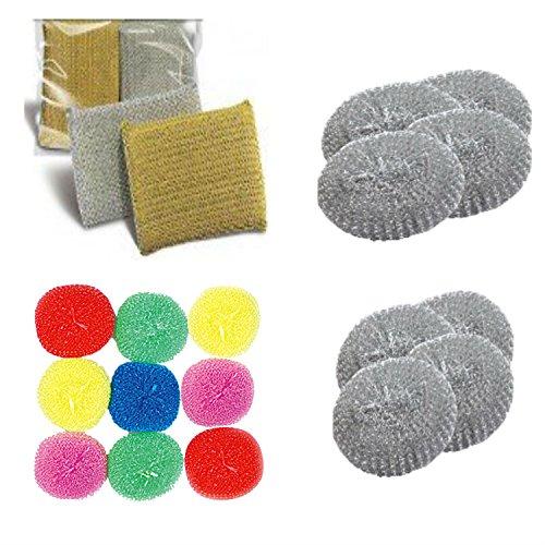 plastic-steel-sponge-scourers-dish-pot-washing-up-scrubbers-kitchen-bathroom-house-cleaning-kit-bund