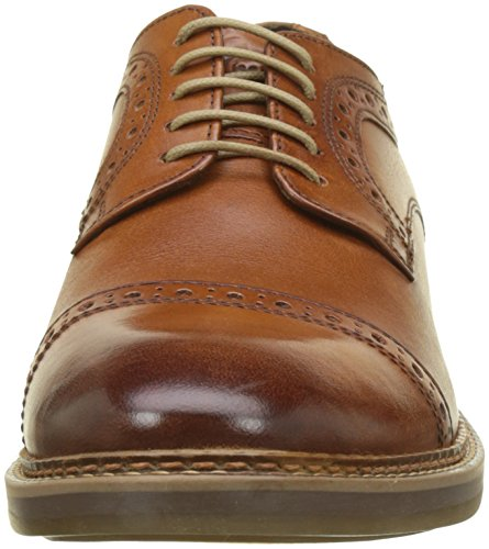 Base London Herren Butler Derbys Beige (washed Tan)