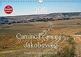 Camino Frances - JakobswegAT-Version (Wandkalender 2018 DIN A4 quer): Unterwegs am Jakobsweg von St. Jean-Pied-de-Port nach Santiago de Compostela ... [Kalender] [Apr 01, 2017] Luef, Alexandra - Alexandra Luef