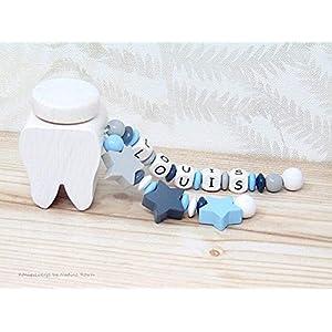 Milchzahndose Junge / Zahndose mit Namen