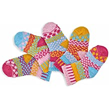 Par de calcetines para ciclismo Solmate diseño de palabra en inglés 5 par de calcetines para ciclismo Odd diseño de libélulas y