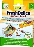 Tetra FreshDelica Daphnien Fischfutter, Naturfutter mit Wasserflöhen