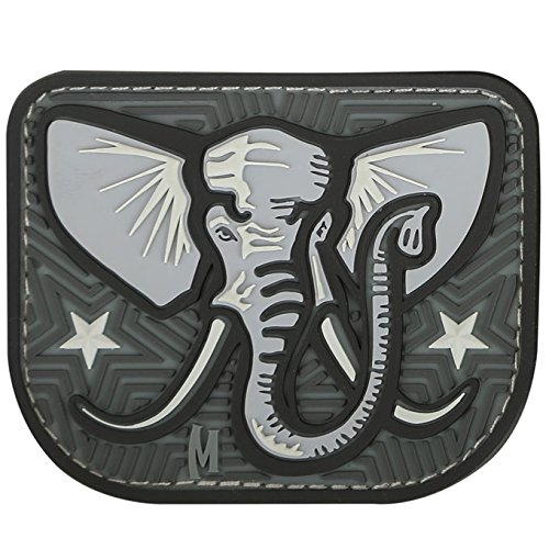 Maxpedition Elephant 2.9 x 2.4 Patch, SWAT (Swat Messer Taktische)