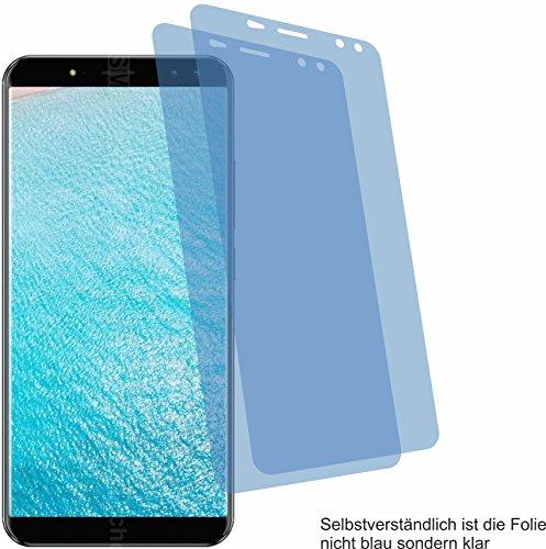 4ProTec 2X ANTIREFLEX matt Schutzfolie für Ulefone Power 3 Bildschirmschutzfolie Displayschutzfolie Schutzhülle Bildschirmschutz Bildschirmfolie Folie