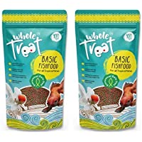 WHOLE TREAT [Flash Sale] Basic Fish Food for Aquarium Fishes/All Kind of Fishes (Pack of 2)