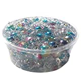 MIRRAY Glänzender Farbverlauf Meerjungfrau Perle Kristall Schlamm Puzzle Spielzeug für Tägliche Hobbys (B, EIN Stück)