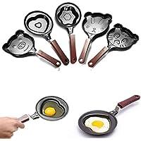Bazaar Mini Cartoon Antihaftbeschichtung Tortilla-Pfannen Braten Pfanne Ei