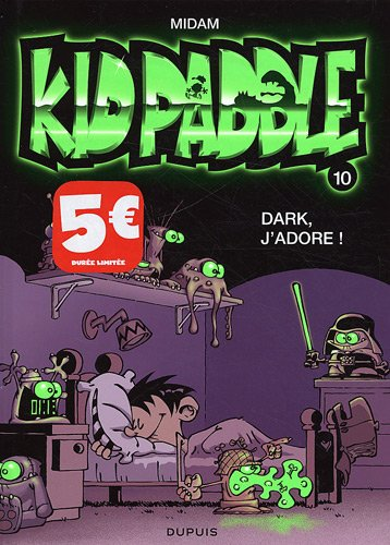 Kid Paddle, Tome 10 : Dark, j'adore !