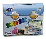 Feuchtmann Spielwaren 6280150 - Schul-Knet Set, Knete und Kreide, 18-teilig
