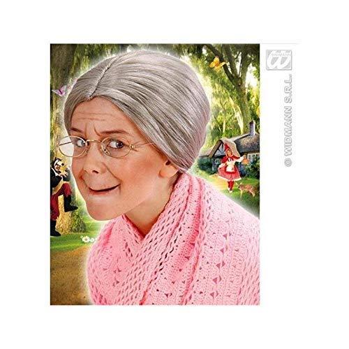 100 Alte Kostüm Jahre Frau - Lively Moments Kinderperücke Oma für Fasching / Omaperücke für Kinder / Kostüm Zubehör