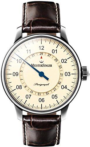 MeisterSinger Perigraph Reloj Automático para hombres Diseño Clásico