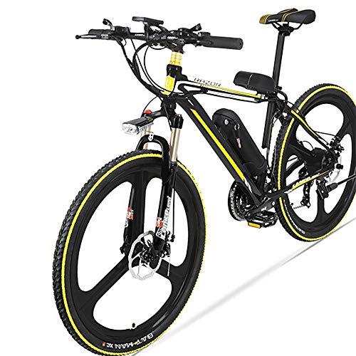 AI CHEN Elektrisches Mountainbike 48V Lithium Batterie Elektrisches Einrad Fünfgang Power Fahrrad 26 Zoll