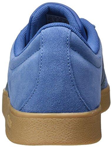 adidas Herren VL Court 2.0 Gymnastikschuhe Blau (Trace Royal S18/raw Grey S18/gum4)