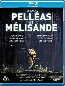 Debussy: Pelléas et Mélisande [Marc Mauillon; Jenny Daviet; Laurent Alvaro; Maxime Pascal] [Belair Classiques: BAC544] [Edizione: Regno Unito]