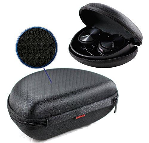 Navitech Schwarz Bügelkopfhörer Case Cover Gehäuse für Sennheiser/ Bose / Sony MDR / Skull Candy hier kaufen