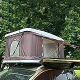 "Zelt ADKINC Dachzelt, Outdoor Hartschalenzelt 83""für Autodachzelt - Trucks SUVs Camping Travel (2/3 Person)"