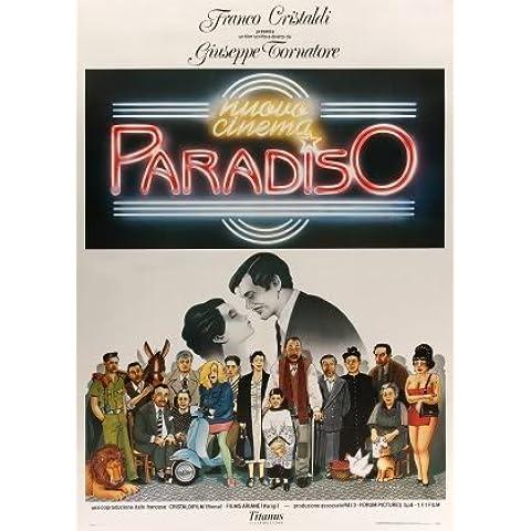 CINEMA PARADISO - ITALIAN – Imported Movie Wall Poster Print – 30CM X 43CM Brand New