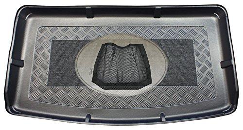 Preisvergleich Produktbild ZentimeX Z3011140 Kofferraumwanne + Klett-Organizer für Mini Countryman One D R60 Kombi 5-türer 2010-