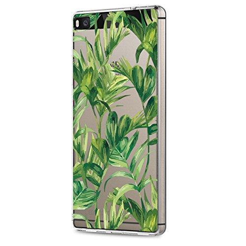 Huawei P8/ P8 Lite 2015 Hülle Ultra Slim TPU Silikonhülle Hülle Croazhi Anti-Scratch Bumper Soft Skin Hülle Resistant Schutzhülle Hülle Voller Flexible Hülle (3, Huawei P8 Lite 2015)