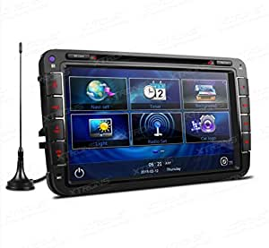 AUTORADIO SPECIFICA XTRONS PF81MTVD DVB-T GOLF POLO SKODA SEAT GPS USB SD DIVX MP3 MP4 BLUETOOTH