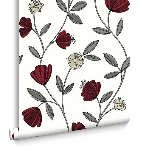 sale-superfresco-easy-paste-the-wall-capri-red-floral-wallpaper-was-15-now-5