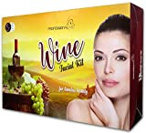 Professional Feel Wine Facial Kit, all type of skin solution, unisex for fairness (500 G) (wine)