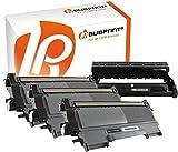 Bubprint 3 Toner & Trommel kompatibel für Brother TN-2220 TN-2010 DR-2200 für DCP-7055 DCP-7065DN HL-2130 HL-2270DW MFC-7360N MFC-7460DN MFC-7860DW