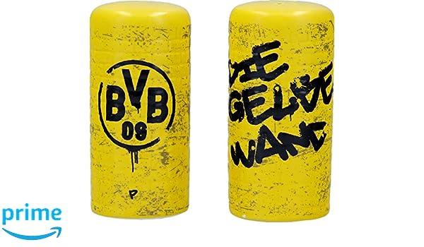Eierbecher Gelbe Wand 2er Set Borusssia Dortmund Fanartikel BVB