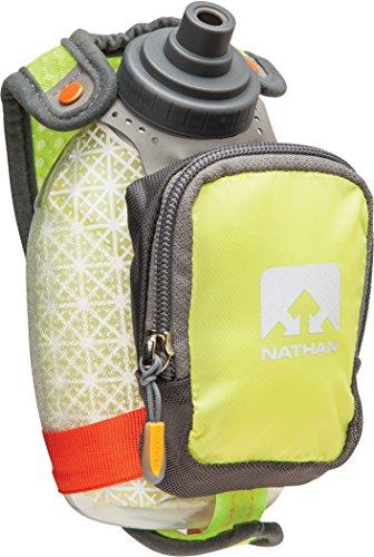 Nathan QuickShot Plus Insulated Handheld 300ml Lime Punch 2017 Trinksystem (Nathan Trinksysteme)