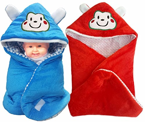 BRANDONN FASHIONS 3 IN 1 Baby Wrapper OR Blanket Cum Sleeping Bag Cum Bedding(Pack Of 2)