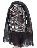 Faschingsmaske: Haube mit Gitter